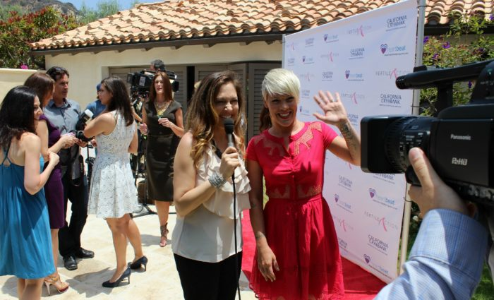 RED CARPET Kristin Cruz Pink Vegan Summer