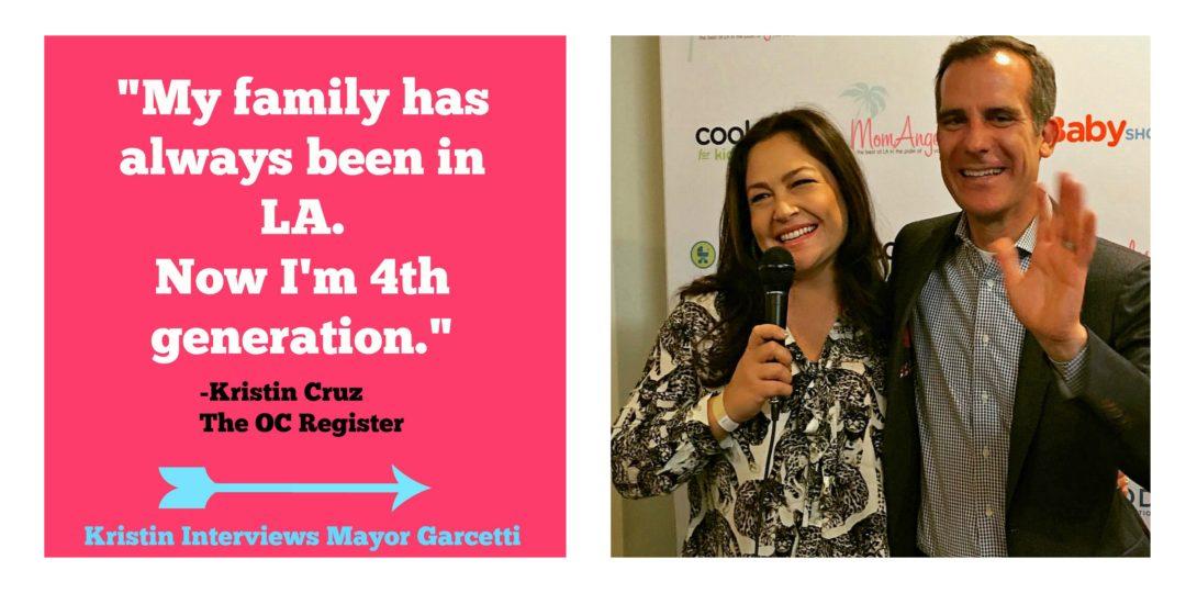 TV Host News Interviews LA Mayor