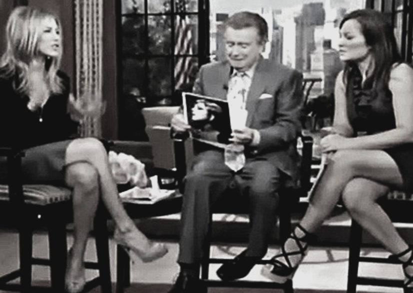 About me & bios Kristin Cruz: Interviewing Jennifer Anniston ABC TV LIVE! in for Kelly Ripa