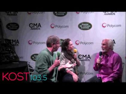 CMA celeb interviews loggins radio