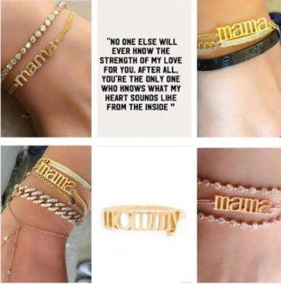 MAMA mothers day bracelet